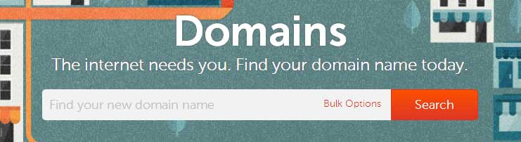 Register your domain now